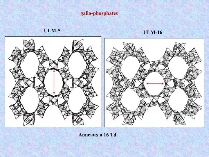 gallo-phosphates