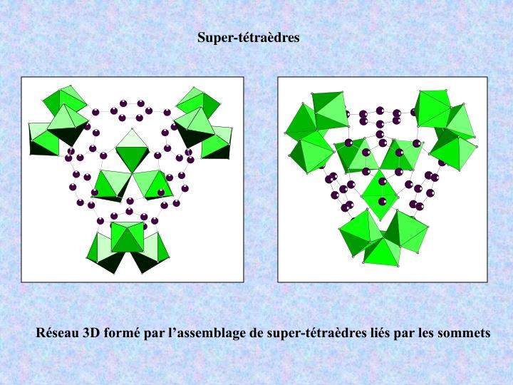 Super-tétraèdres