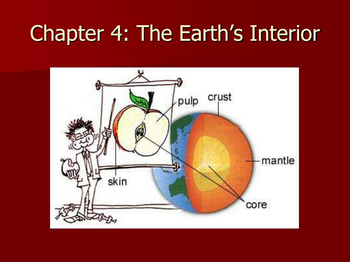 PPT Chapter 4 The Earths Interior PowerPoint Presentation ID