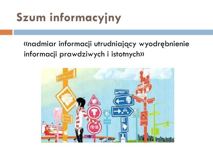 Szum informacyjny