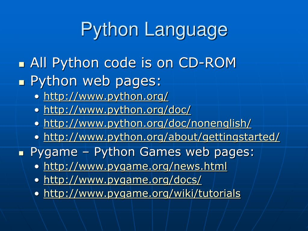PPT - Overview of Python PowerPoint Presentation - ID:4353985