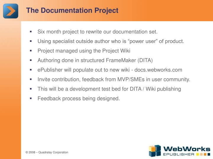 The Documentation Project