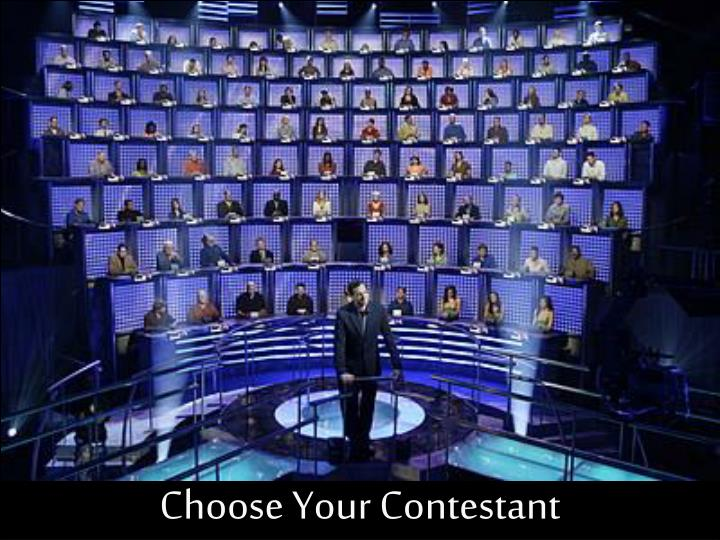Choose Your Contestant