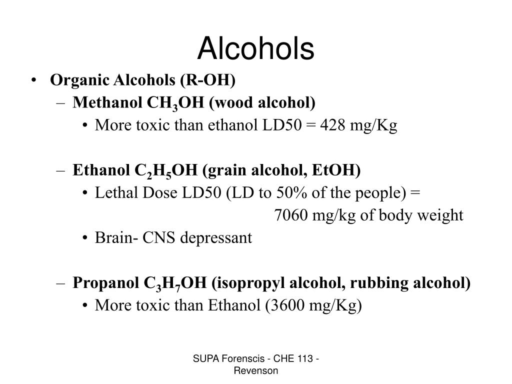 PPT - Alcohol PowerPoint Presentation - ID:4354898