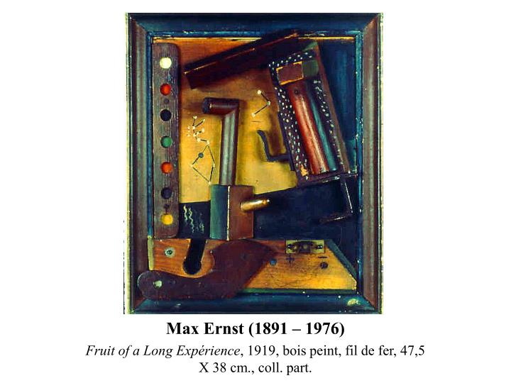 Max Ernst (1891 – 1976)