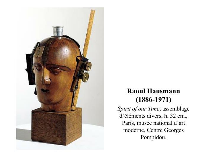 Raoul Hausmann (1886-1971)