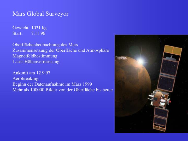 Mars Global Surveyor