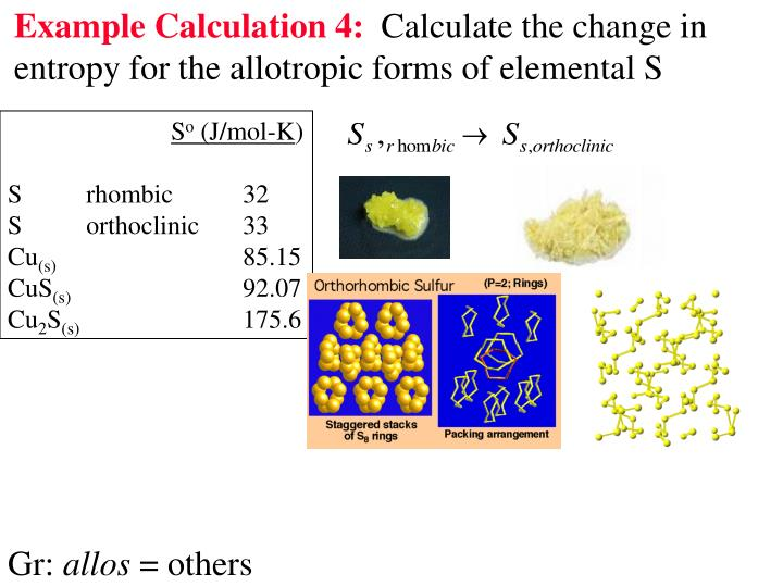 Example Calculation 4: