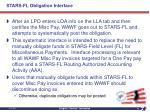 stars fl obligation interface