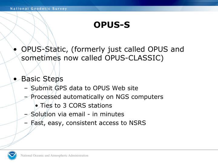 OPUS-S