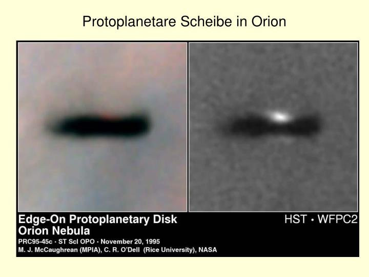 Protoplanetare Scheibe in Orion