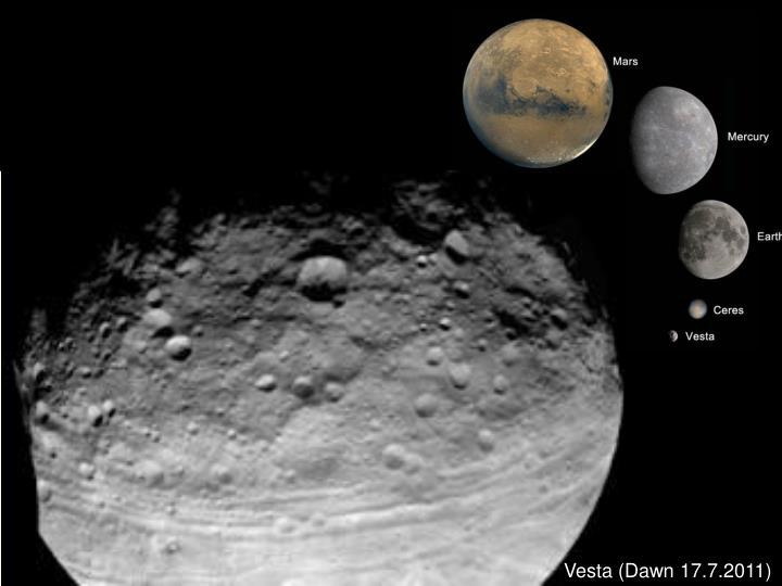 Vesta (Dawn 17.7.2011)