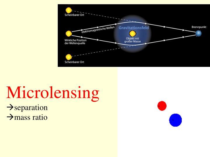 Microlensing