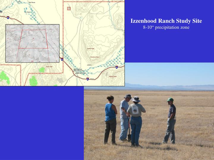 Izzenhood Ranch Study Site