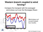 western branch coupled to wind forcing1