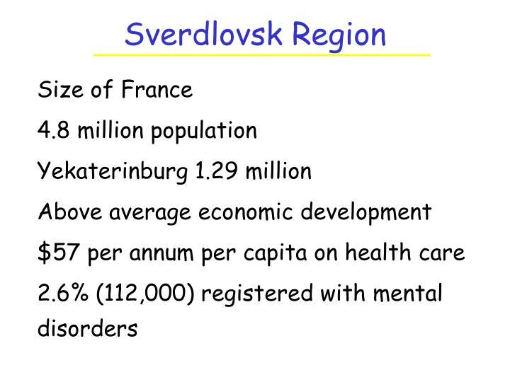 Sverdlovsk Region