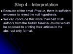 step 4 interpretation1