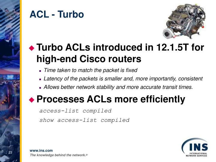 ACL - Turbo