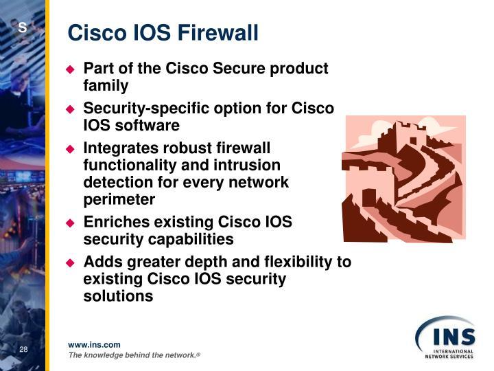 Cisco IOS Firewall