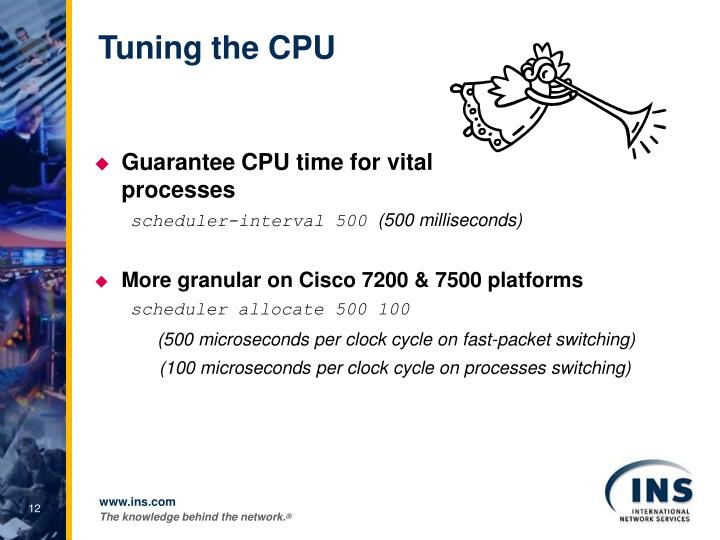 Tuning the CPU