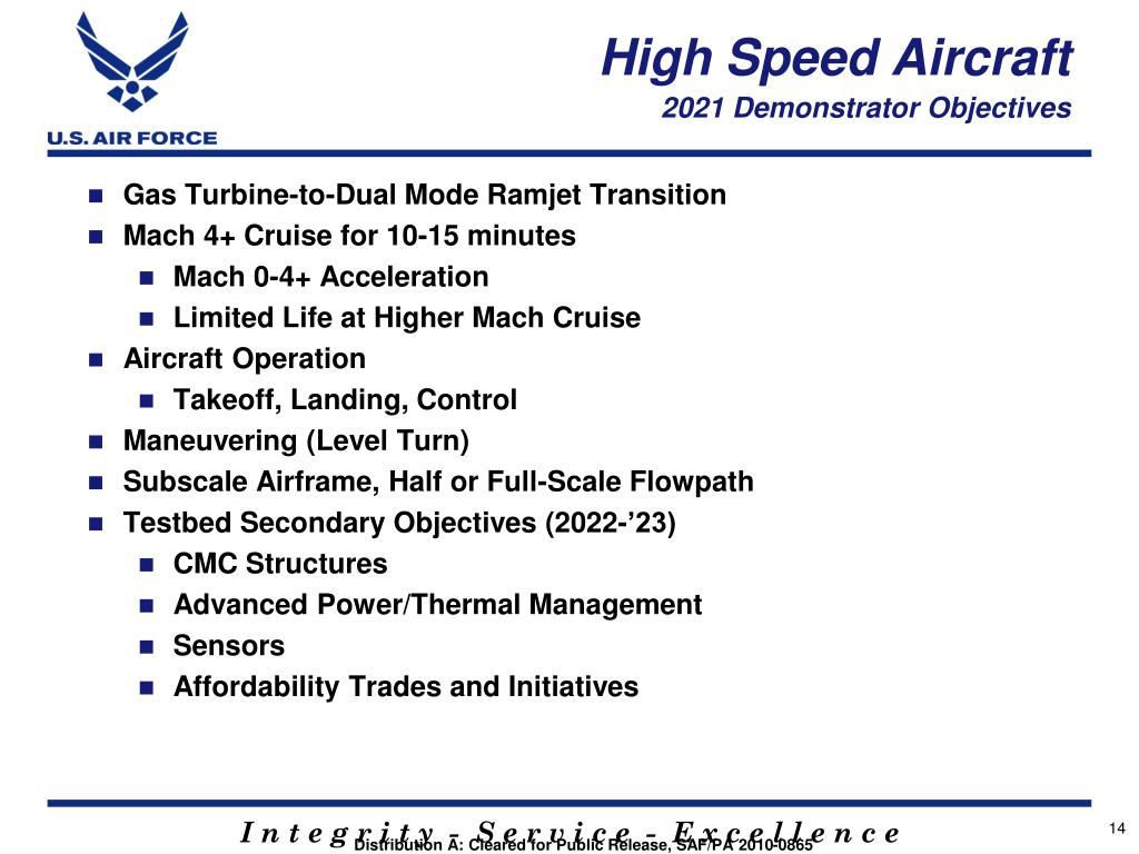 PPT - Air Force High Speed Science and Technology Plan AIAA