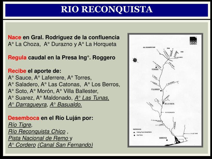 RIO RECONQUISTA