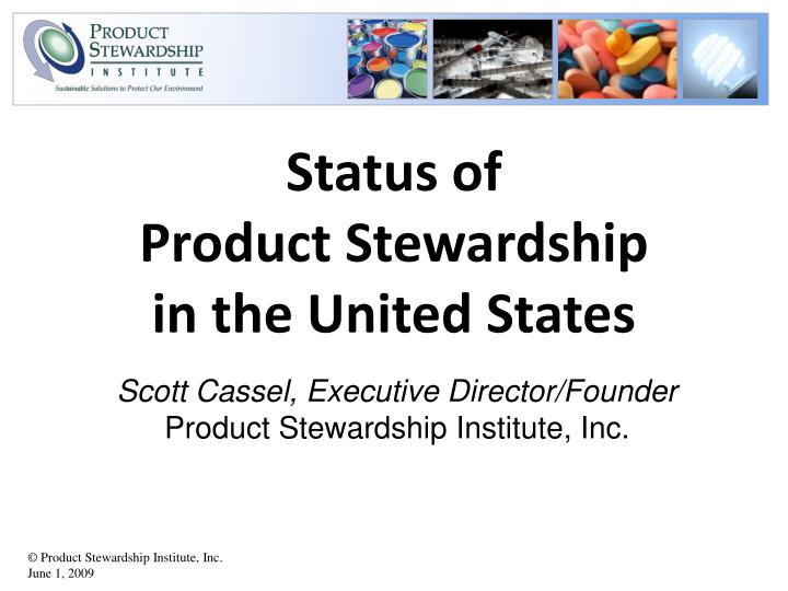 status of product stewardship in the united states n.