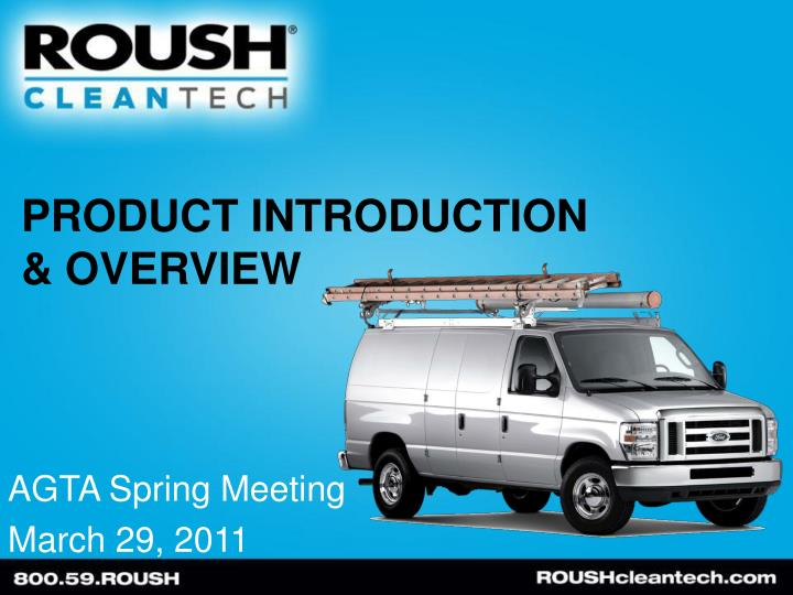 product introduction overview n.