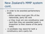 new zealand s mmp system cont