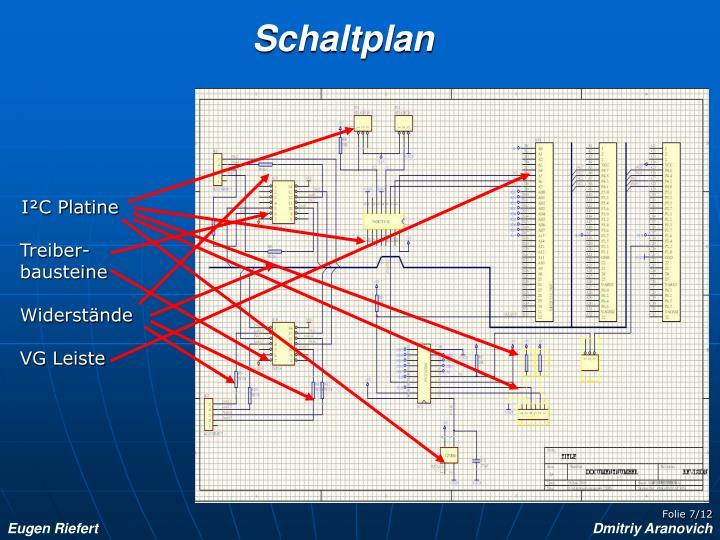 Schaltplan