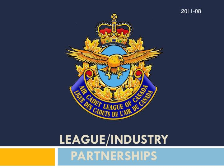 League industry partnerships