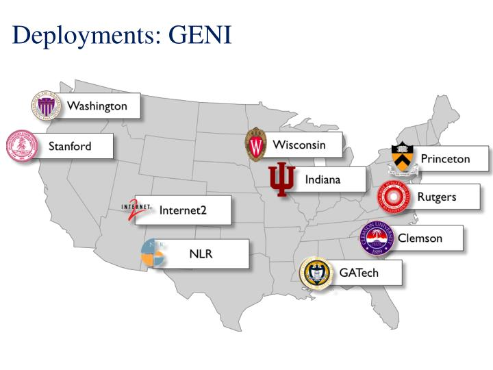 Deployments: GENI