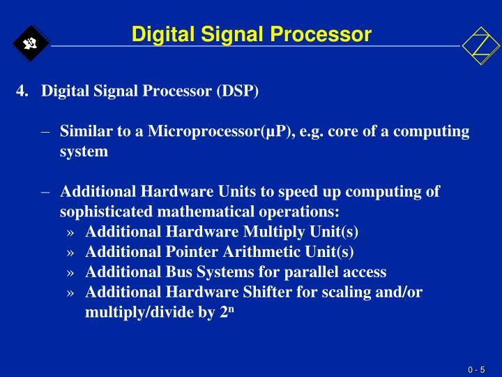 Digital Signal Processor