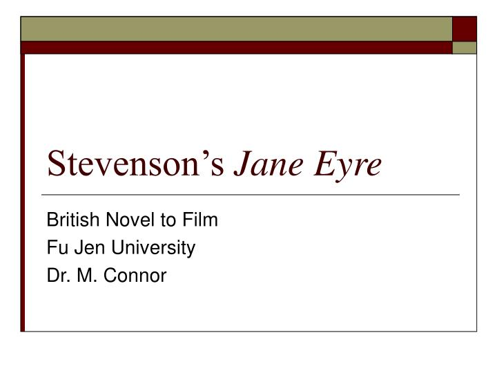 comparative essay frankenstein and jane eyre For the best answers, search on this site   shelley's frankenstein is an example of the style of romanticism, so you might try comparing it to another book in the same style, for example thoreau's walden, since they are likely to have similar themes.
