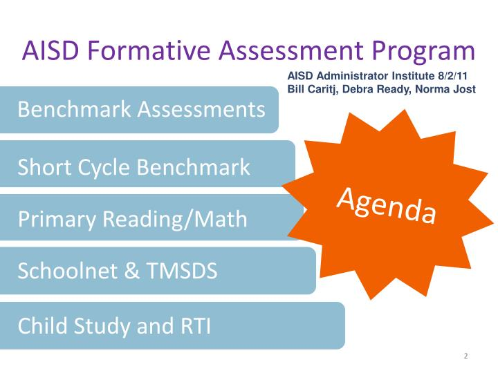 AISD Formative Assessment Program