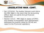 legislative man cont