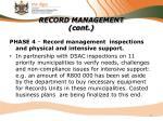 record management cont2