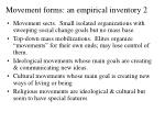 movement forms an empirical inventory 2