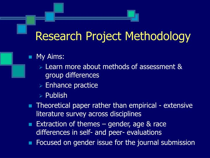 Research Project Methodology