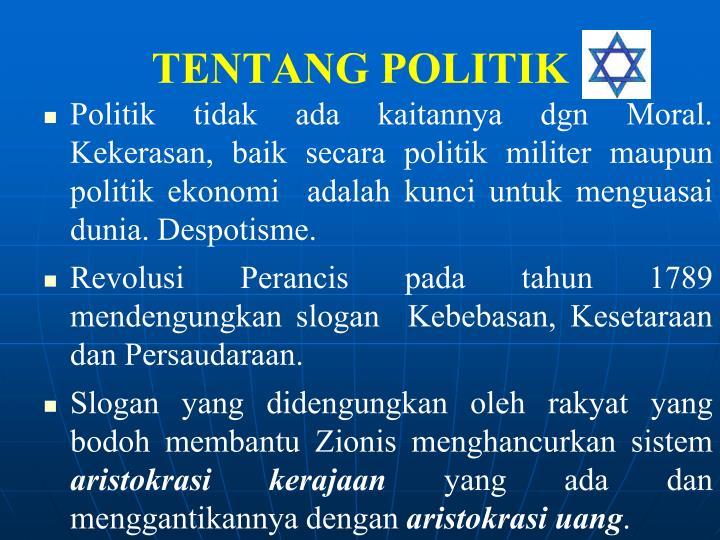 TENTANG POLITIK