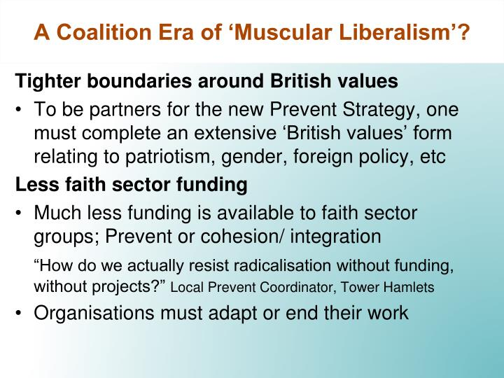 A Coalition Era of 'Muscular Liberalism'?