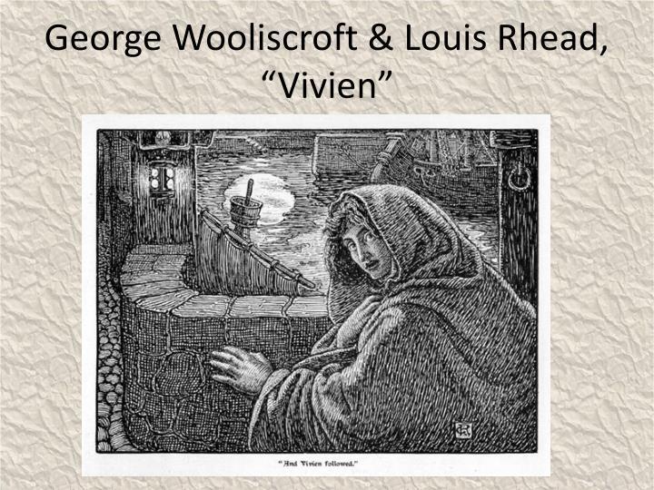 """George Wooliscroft & Louis Rhead, """"Vivien"""""""