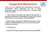 cooperative mechanisms