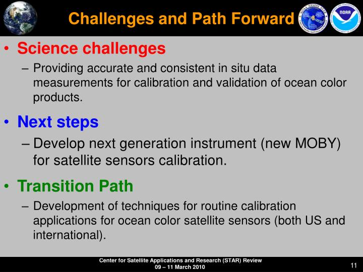 Challenges and Path Forward