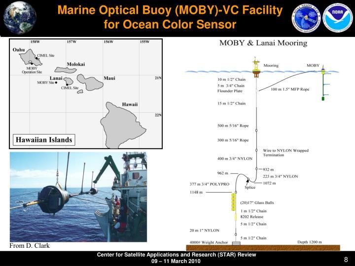 Marine Optical Buoy (MOBY)-VC Facility