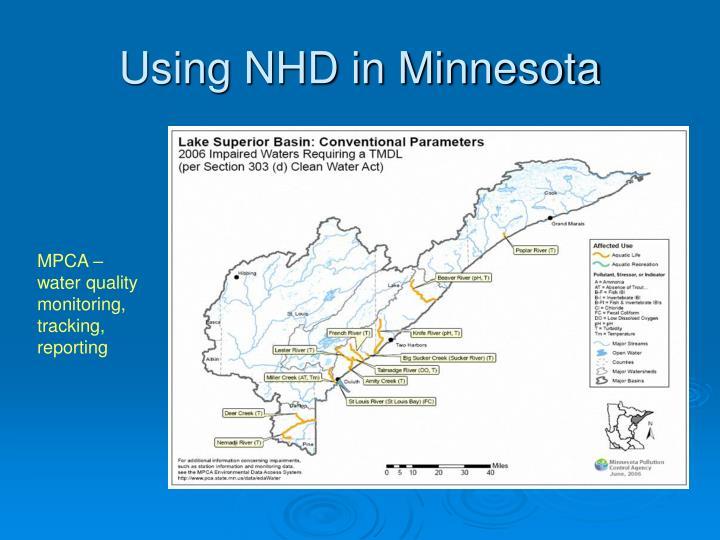 Using NHD in Minnesota