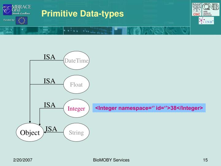 Primitive Data-types