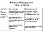 financial perspective dashboard1
