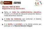 decreto 1965 de 2013 reglamenta la ley 1620 de 2013