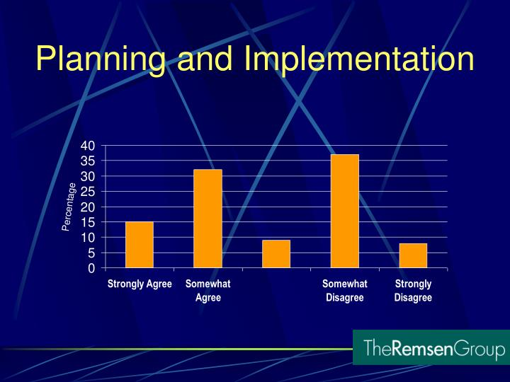 Planning and Implementation
